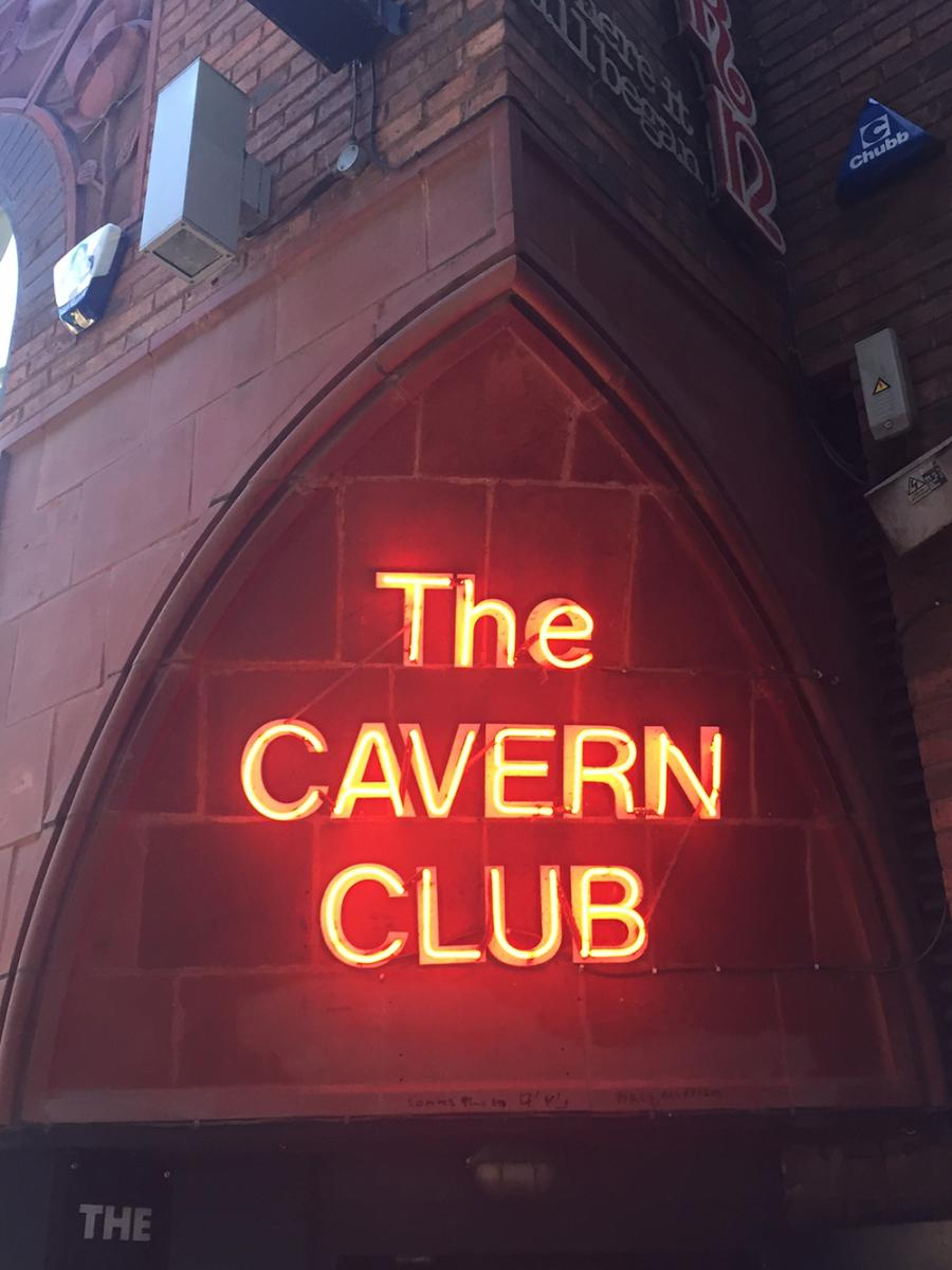 Pictures of the cavern club liverpool The Beatles in Liverpool: The Stories, the Scene, and the
